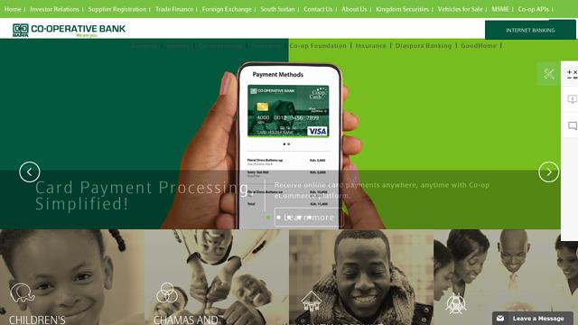 Co-operative-Bank-of-Kenya API koppeling