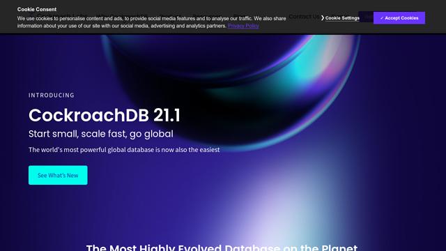 CockroachDB API koppeling
