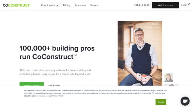 CoConstruct API koppeling