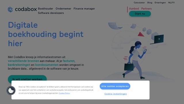CodaBox API koppeling