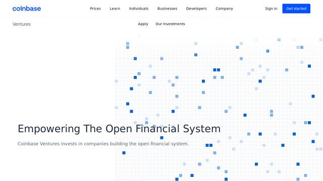 Coinbase-Ventures API koppeling