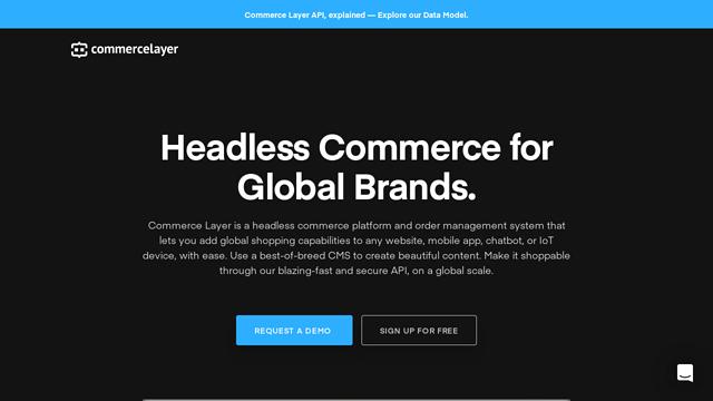 Commerce-Layer API koppeling