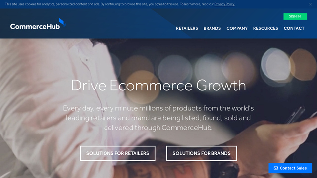 CommerceHub API koppeling