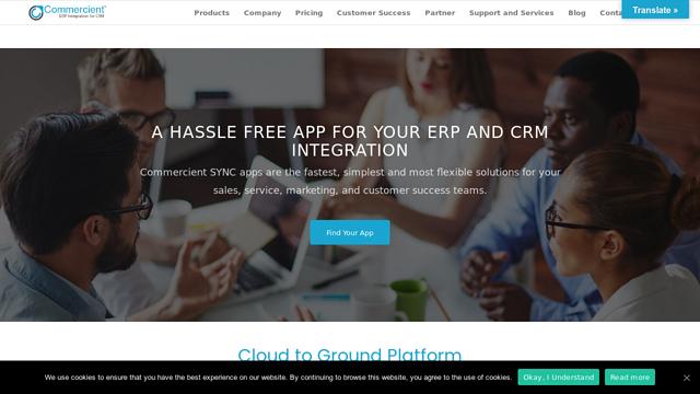 Commercient API koppeling