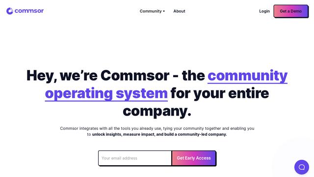 Commsor API koppeling