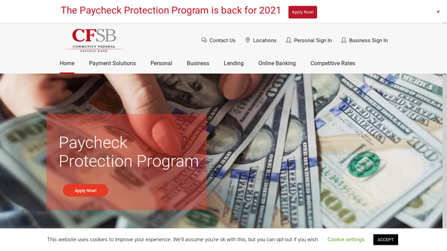 Community-Federal-Savings-Bank API koppeling