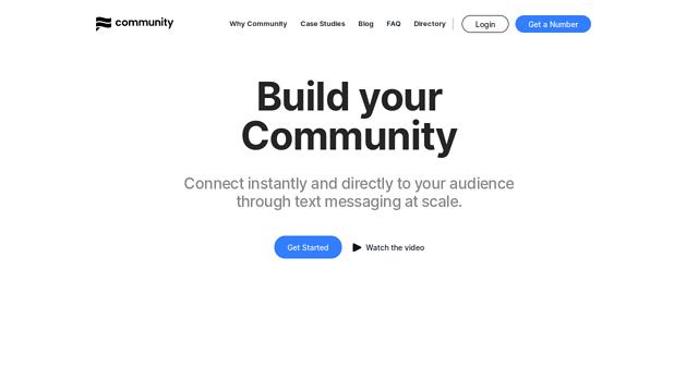 Community API koppeling