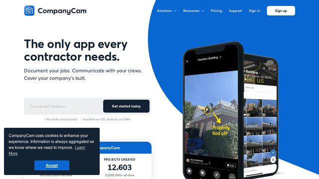 CompanyCam API koppeling