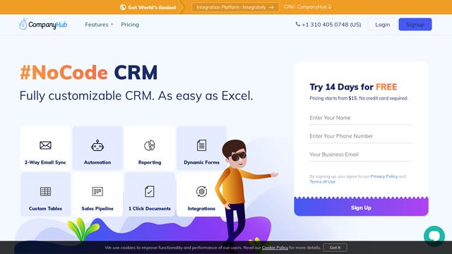 CompanyHub-CRM API koppeling