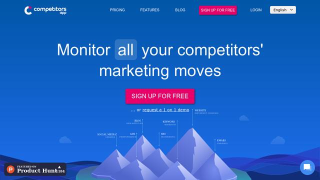 Competitors-App API koppeling