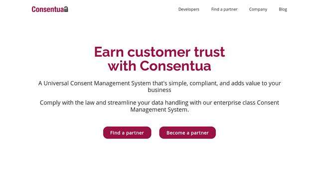 Consentua API koppeling