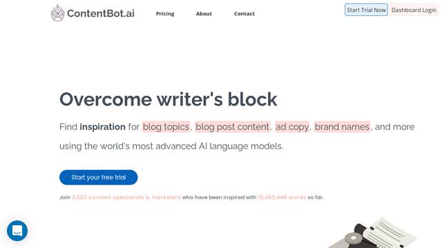 ContentBot.ai API koppeling