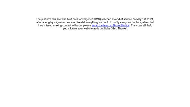 Convergence-CMS API koppeling