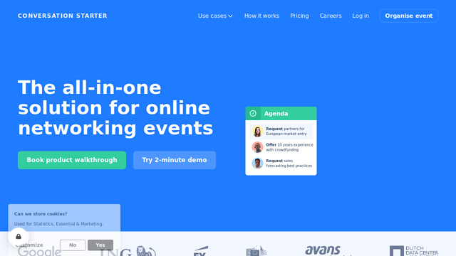 Conversation-Starter API koppeling