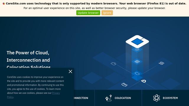 CoreSite API koppeling
