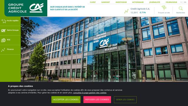 Crédit-Agricole API koppeling