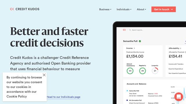 Credit-Kudos API koppeling