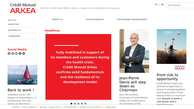 Crédit-Mutuel-Arkéa API koppeling