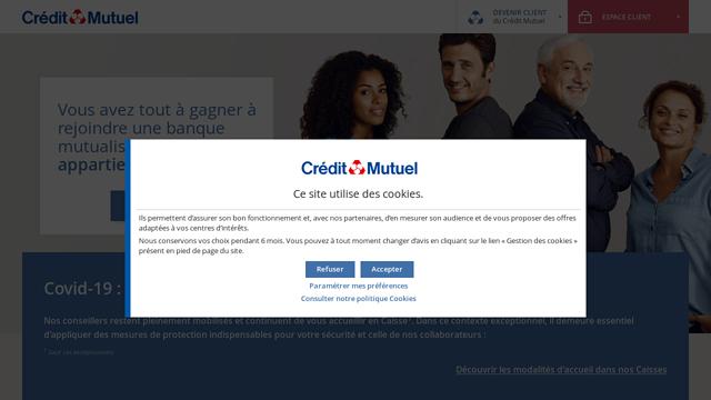 Crédit-Mutuel API koppeling