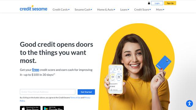 Credit-Sesame API koppeling