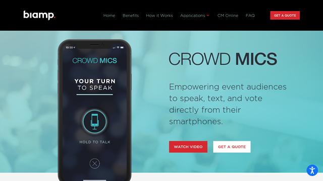 Crowd-Mics API koppeling