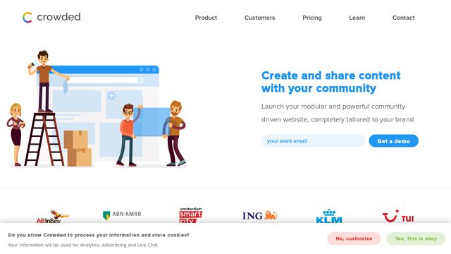 Crowded-Communities API koppeling