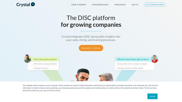 Crystal-Project API koppeling