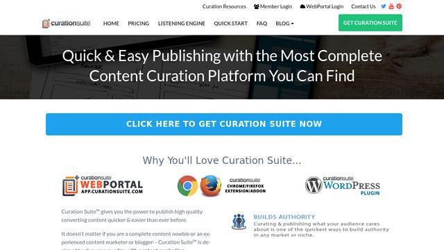 Curation-Suite API koppeling