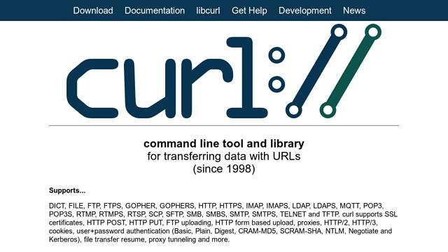 cURL API koppeling