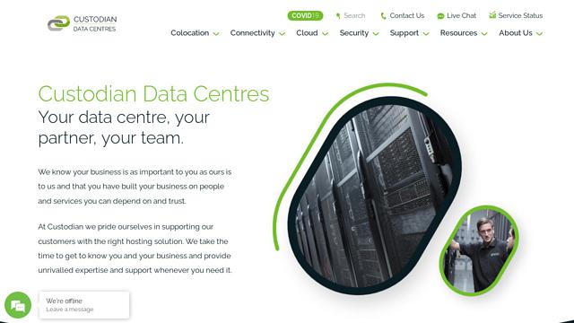 Custodian-Data-Centres API koppeling