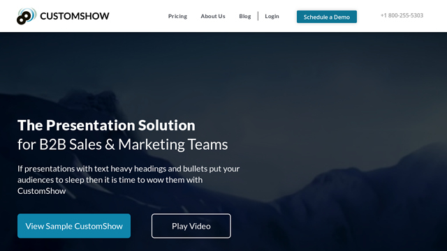 CustomShow API koppeling