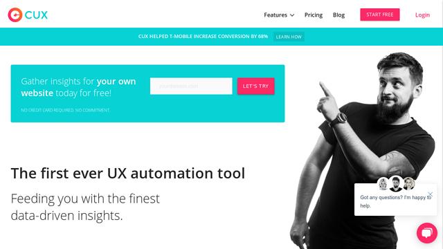 cux.io API koppeling