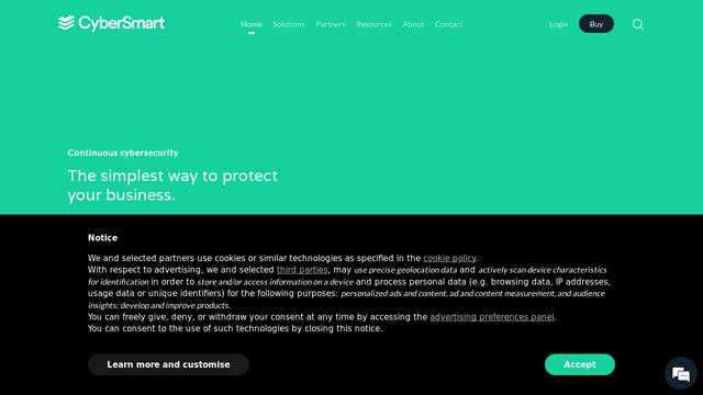 CyberSmart API koppeling