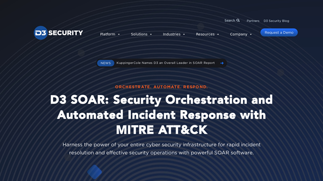 D3-Security API koppeling