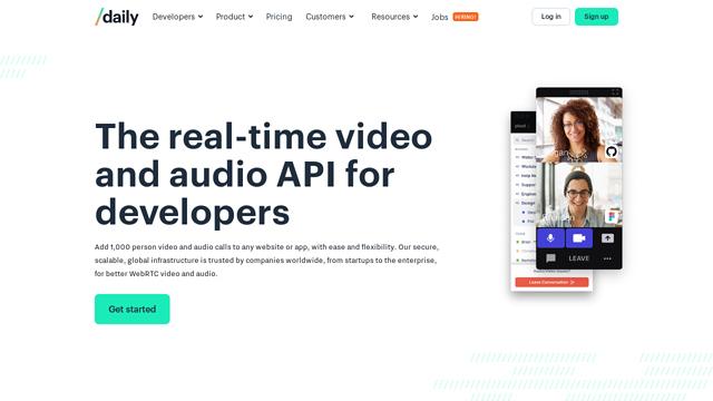 Daily.co API koppeling