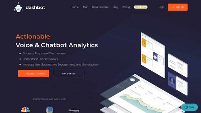 Dashbot.io API koppeling