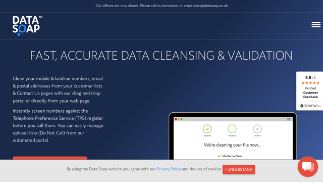 Data-Soap API koppeling