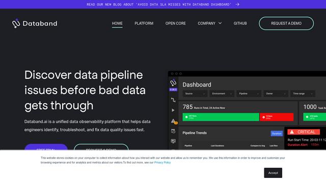 Databand API koppeling