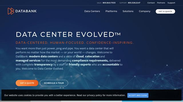 DataBank API koppeling