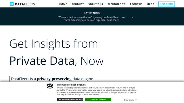 DataFleets API koppeling