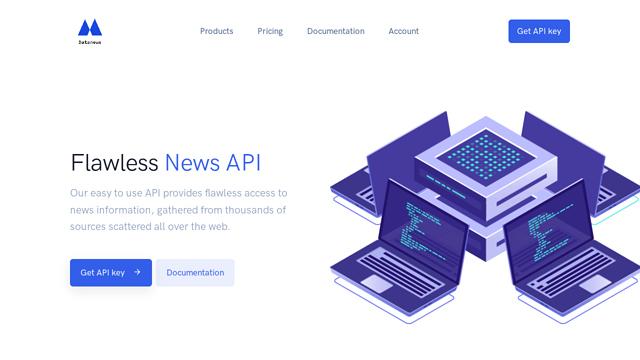 Datanews API koppeling