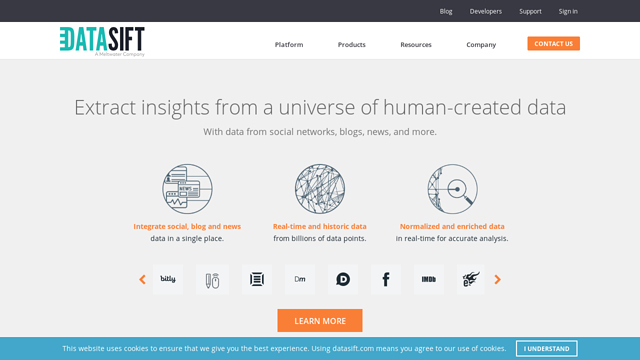 DataSift API koppeling