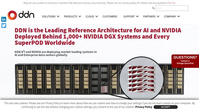 DDN-Storage API koppeling