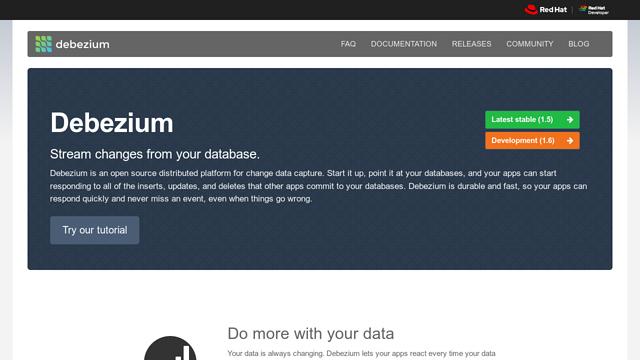 Debezium-Project API koppeling