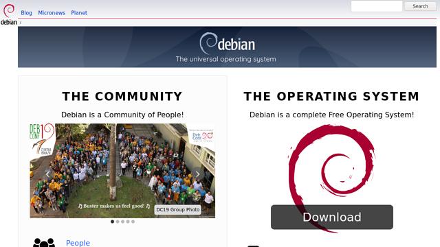 Debian API koppeling