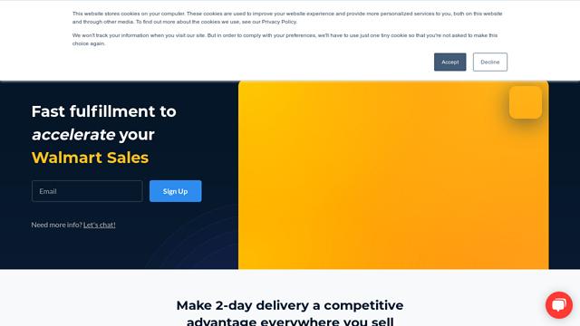 Deliverr API koppeling