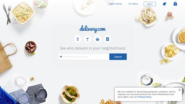 delivery.com API koppeling