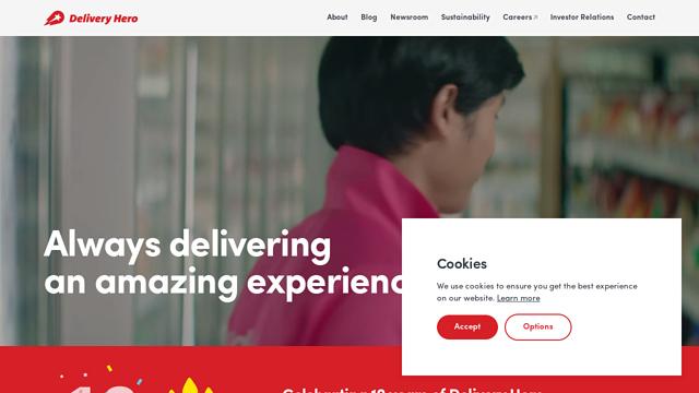 Delivery-Hero API koppeling