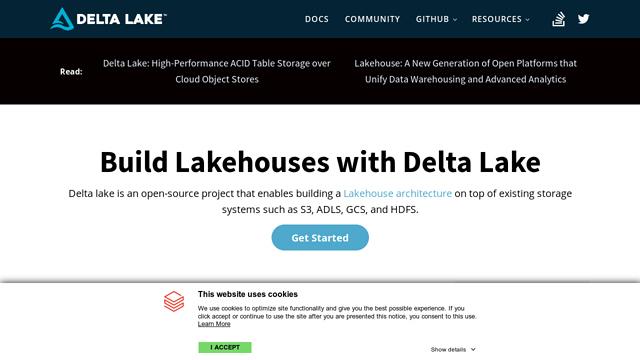 DeltaLakeOSS API koppeling