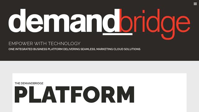 DemandBridge API koppeling